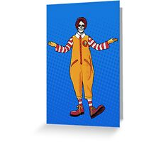 Ronnie McDeath Greeting Card