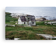 Abandoned By The Sea Canvas Print