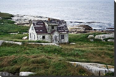 Abandoned By The Sea by Scott Ruhs