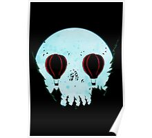 Skull Moon Poster
