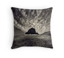 California is Burning Throw Pillow