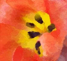 Tulip  Impression  by Michelle BarlondSmith