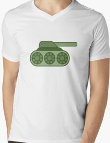 Tank Mens V-Neck T-Shirt