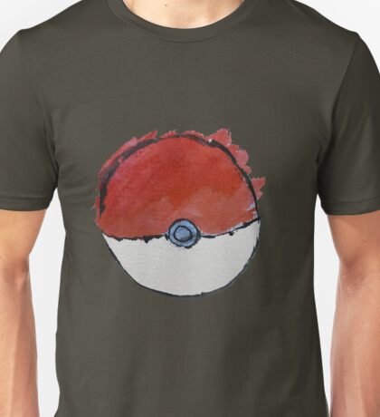 Scribble Pokeball Unisex T-Shirt