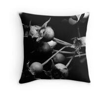 Local Flora - Tree Berry Throw Pillow