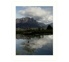 photoj Tasmania, Mt Roland Art Print