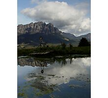 photoj Tasmania, Mt Roland Photographic Print