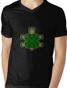 Tortoise Mens V-Neck T-Shirt