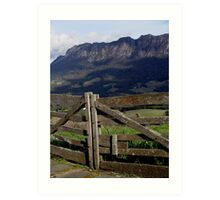 photoj Tas, Mt Roland Art Print