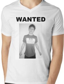 Jack O'Connell WANTED  Mens V-Neck T-Shirt