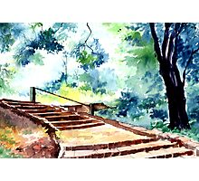 Steps to eternity Photographic Print