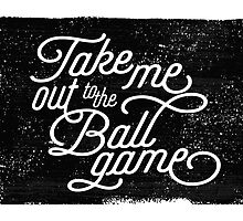 Take Me Out to the Ballgame v1 by noondaydesign
