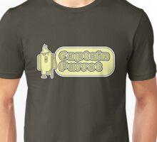 Captain Parrot (With Text) Unisex T-Shirt