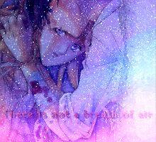 galaxy space gundam wing relena & Heero  by shesxmagic