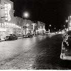 Sherman Avenue at Night by dwcdaid