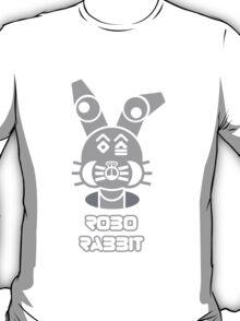 Robo Rabbit (With Text) T-Shirt