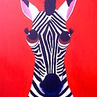 Zebra of Good Fortune by Katie Weychardt