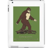 trailer park boys samsqanch iPad Case/Skin
