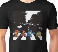 beatles nintndo mash up Unisex T-Shirt