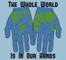 Whole World in our Hands by ezcreative