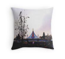 Disneyland's Fantasyland   Throw Pillow