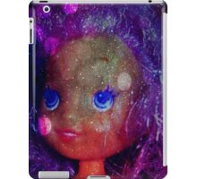 galaxy bubble belle pearl purple hair  iPad Case/Skin