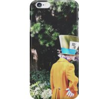 Alice In Wonderland's Mad Hatter  iPhone Case/Skin