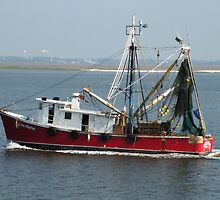 """""""Shrimp Boat is a'comin ... """" by Trish Meyer"""