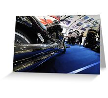 Chrome Me Up Greeting Card