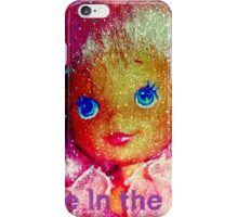 bubble belle flora pink hair iPhone Case/Skin
