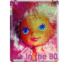 bubble belle flora pink hair iPad Case/Skin
