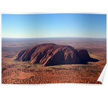 Ayers Rock & Mt Conner Poster