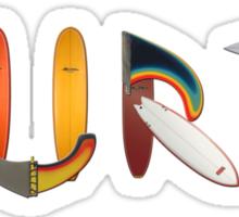 surf graffiti  T-shirt Sticker