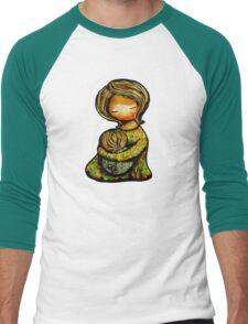 Madonna and Child TShirt Men's Baseball ¾ T-Shirt
