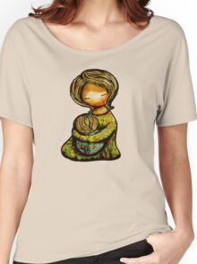 Madonna and Child TShirt Women's Relaxed Fit T-Shirt