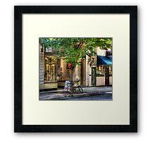 The Music Store Framed Print