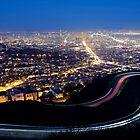 San Francisco Cityscape at Night by heyengel