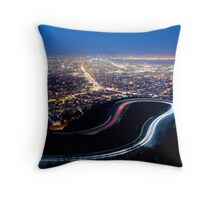 San Francisco Cityscape at Night Throw Pillow