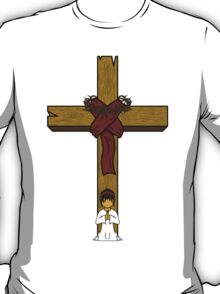 I Kneel At The Feet Of The Cross T-Shirt