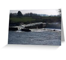 The Weir Greeting Card
