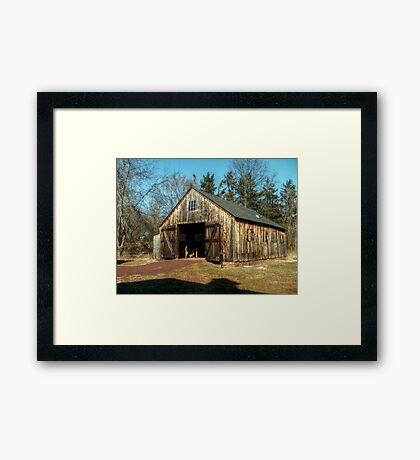 Farley Blacksmith Shop Framed Print