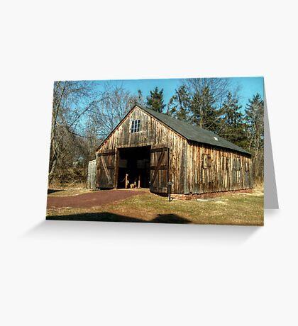 Farley Blacksmith Shop Greeting Card