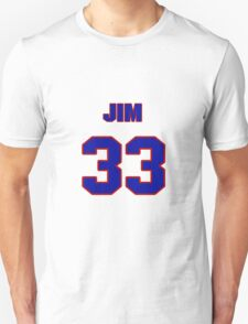 National baseball player Jim Romano jersey 33 T-Shirt