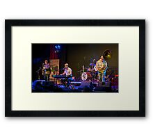 Jules Boult and the Redeemers Framed Print