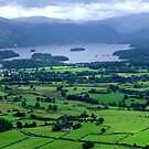 Derwentwater from Carl Side by Gordon Hewstone