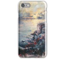 The Ligurian coast (Italy) iPhone Case/Skin