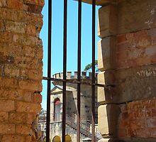 Inside Gaol Port Arthur by Sharon Robertson