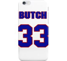 National baseball player Butch Davis jersey 33 iPhone Case/Skin