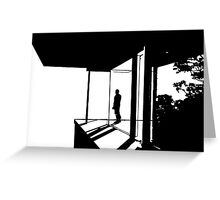 Cantilever  Greeting Card