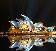 Sydney Opera House reflections by renekisselbach